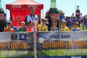 PREBENJAMÍN de 2º año, Barça, Español y Levante, equipos de primera y un elenco de candidatos de gran nivel deportivo.