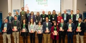 El 12º Torneo Primer Toque Castellón Mediterráneo 2018 de fútbol Base galardonado en la entrega de los prestigiosos premios Empren Esport 2018