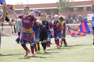 F.C Barcelona en el 11º Torneo Primer Toque Castellón Mediterráneo!!!