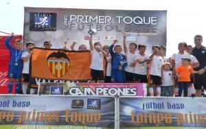 El Valencia C.F se sube al barco del 12º Torneo Primer Toque!!!